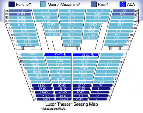 Tickets Seating